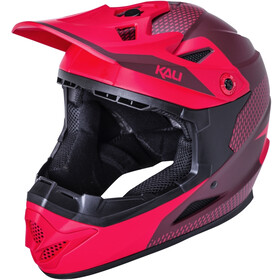 Kali Zoka Dash Helmet, matt red/burgundy